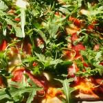 domowa pizza z rukolą