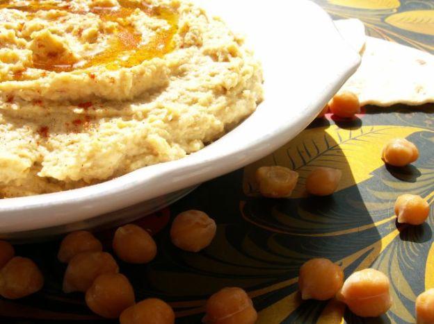 Pasta z ciecierzycy czyli coś jak hummus