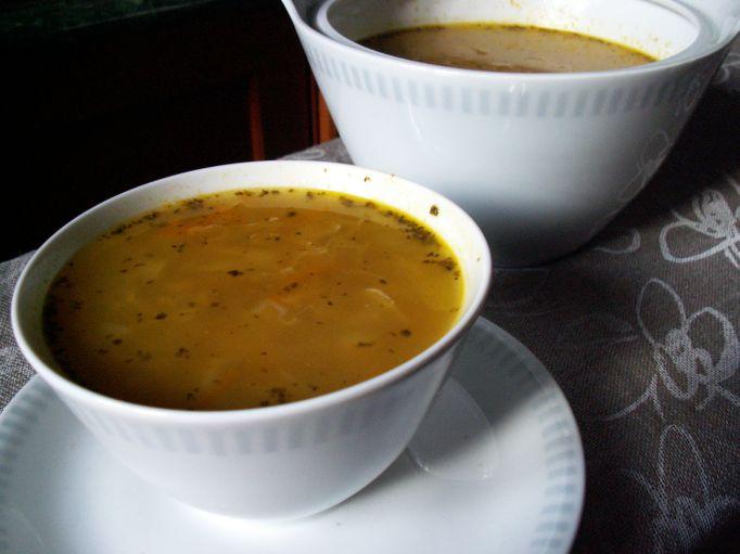 zupa sojowa