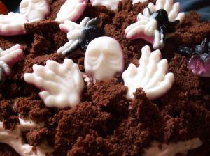 ciasto czekoladowe na halloween