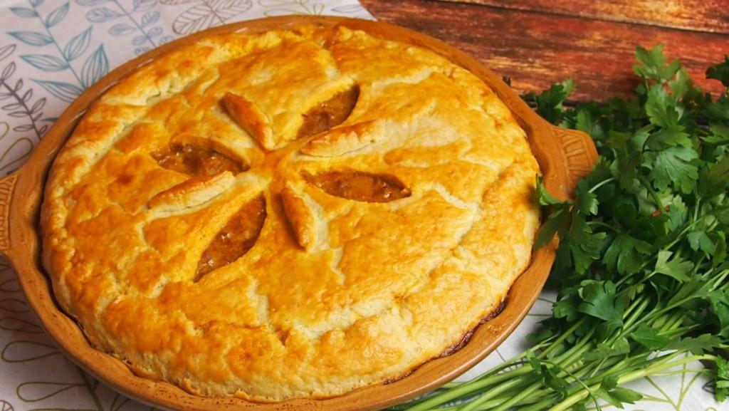 meat pie czyli placek z mięsem