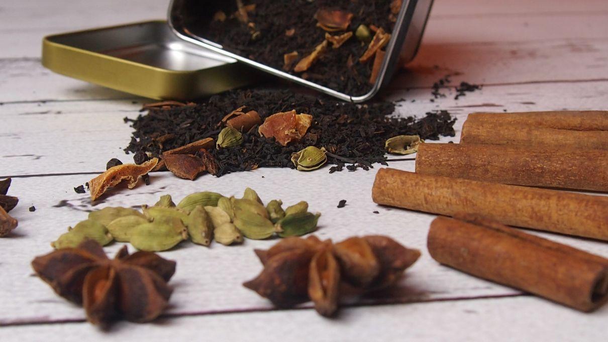 Masala chai czyli rozgrzewająca herbata