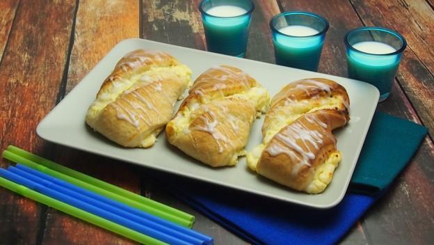 Drożdzówki z serem