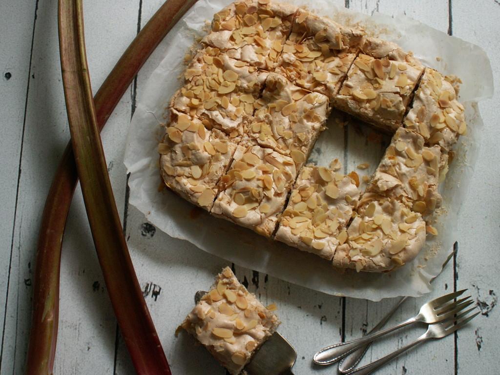 Idealne ciasto z rabarbarem