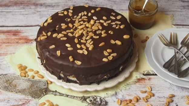 Ciasto czekoladowe ze słonym karmelem