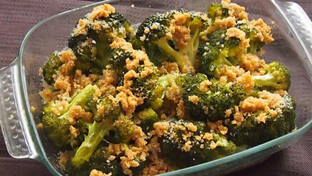 Brokuły pieczone