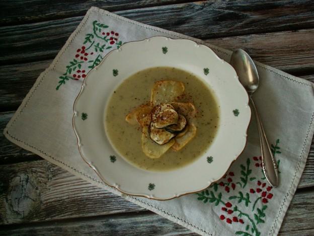 Zupa krem z ziemniaków i cukinii