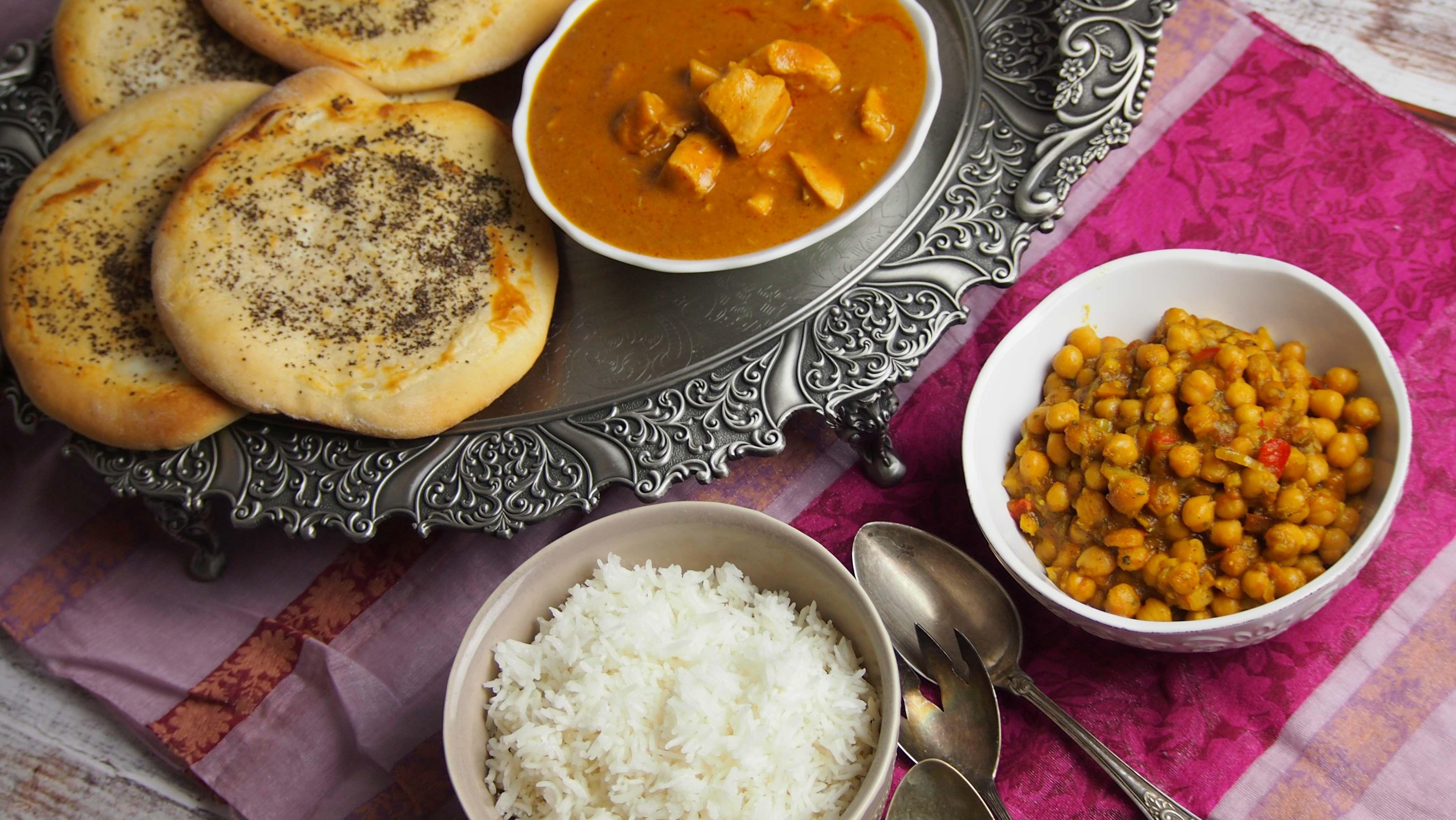 orzechowy kurczak curry