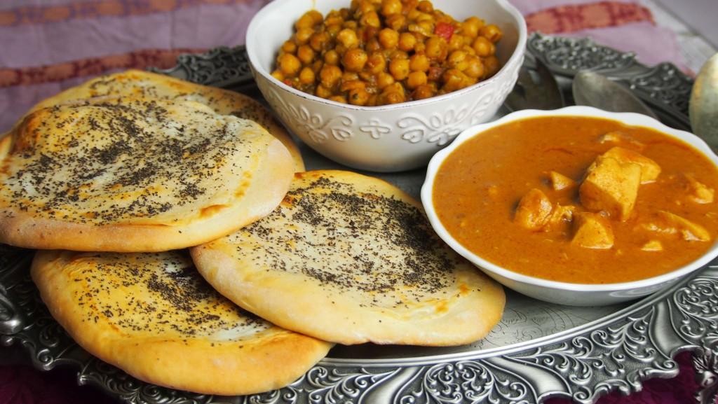 punjabi czyli indyjskie chlebki