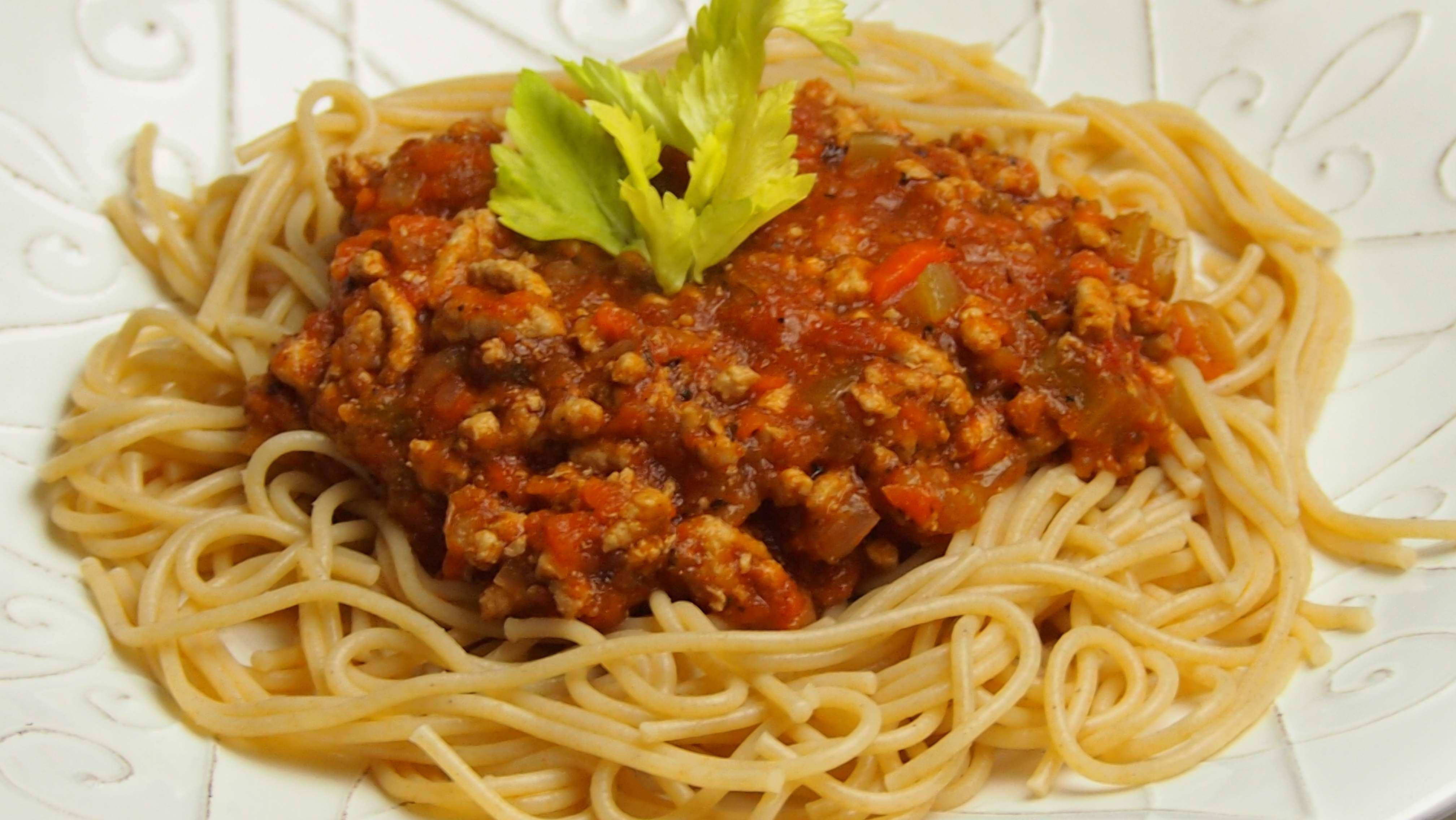 Spaghetti bolognese, sos