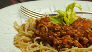 spaghetti bolognese, sos bolognese