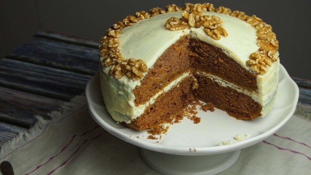 Pyszne ciasto marchewkowe
