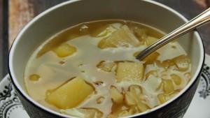 zupa ziemniaczana z kapustą