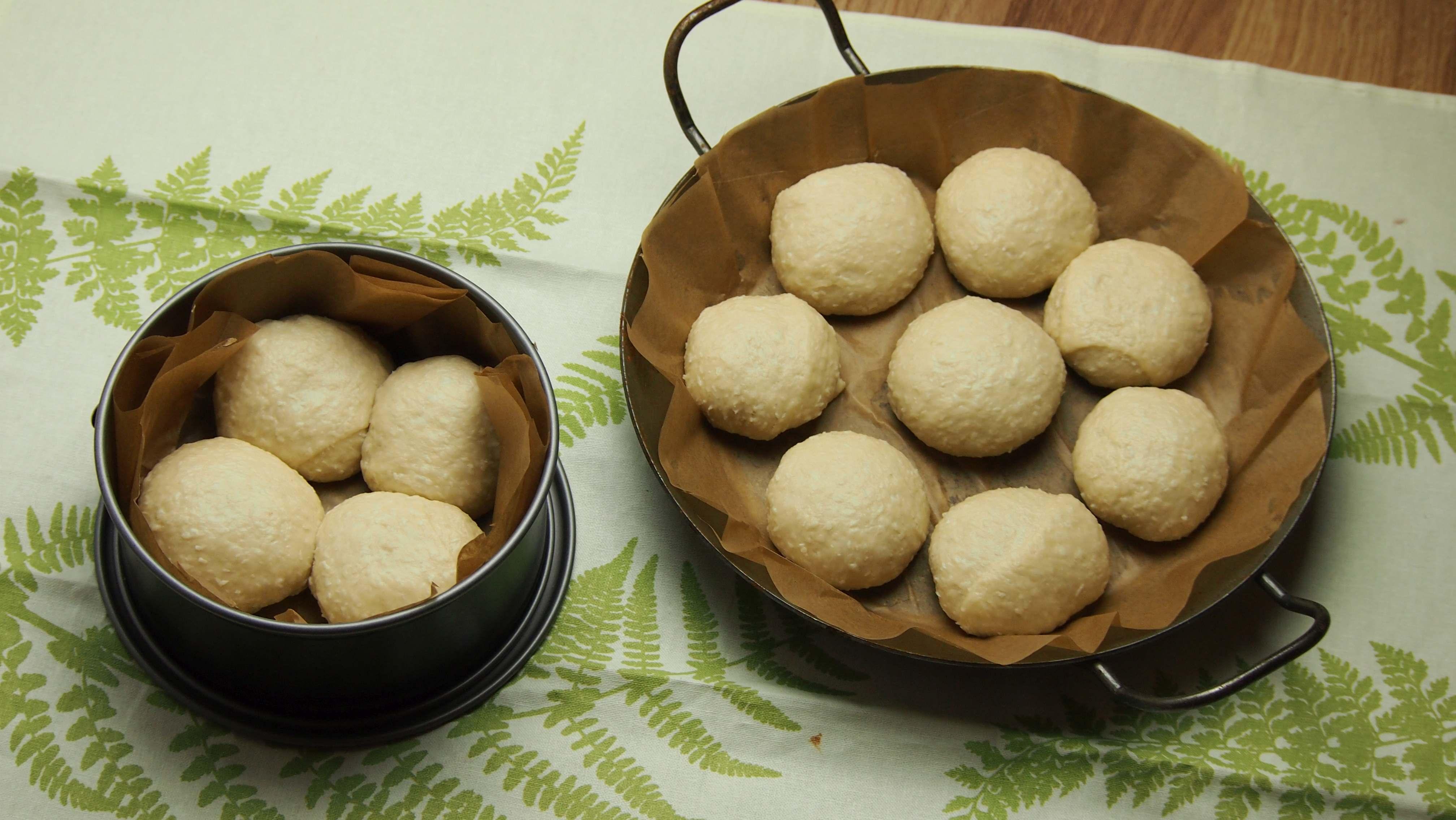 Bułeczki kokosowe