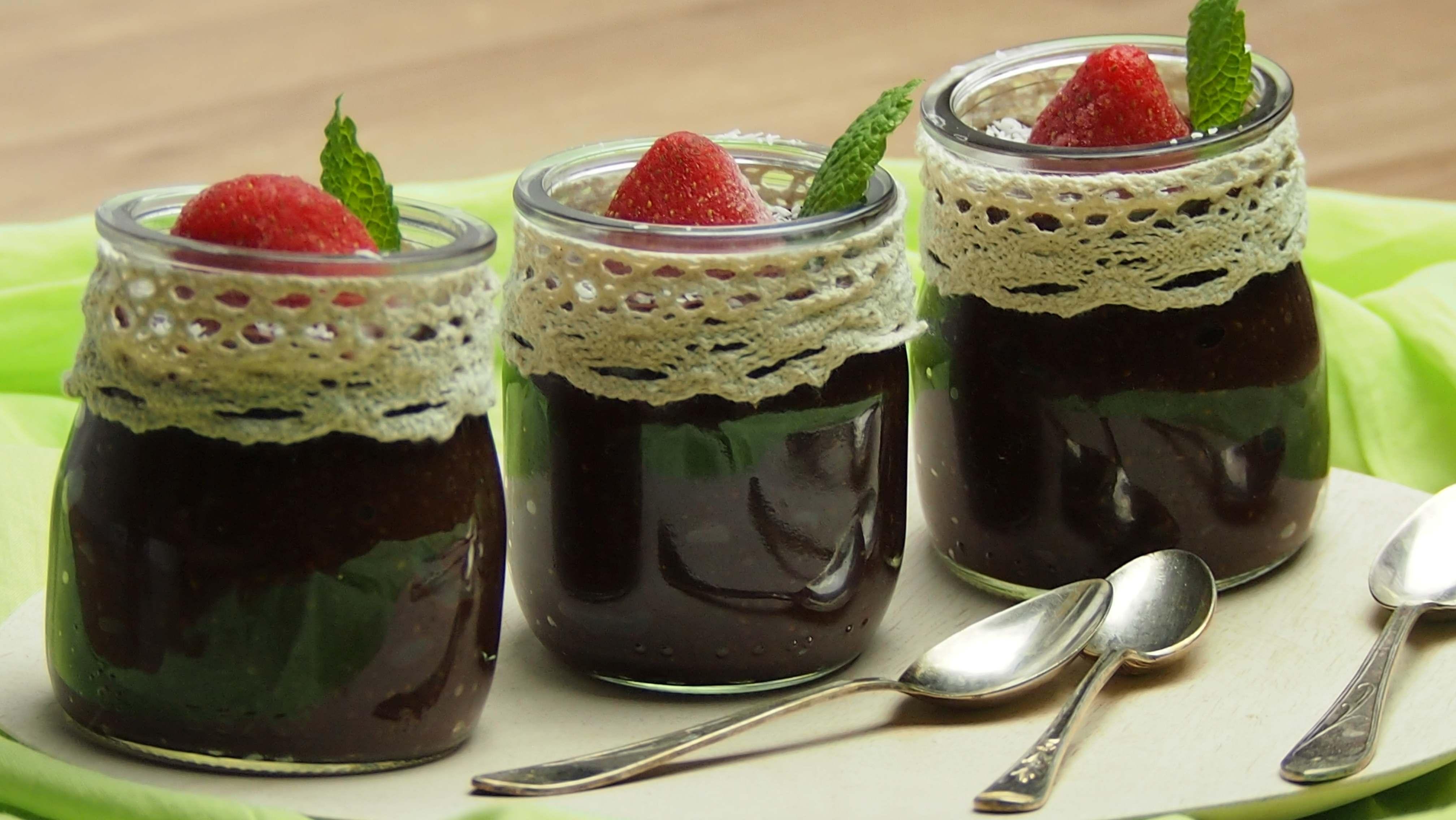 Czekoladowy pudding chia