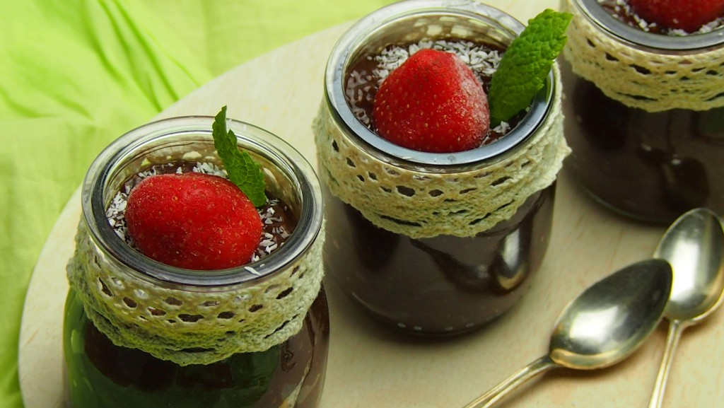 pudding chia czekoladowy