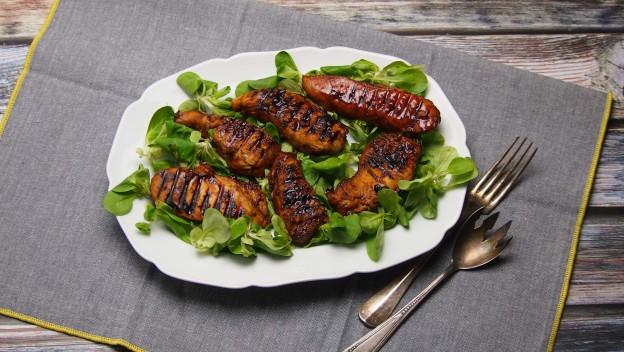 Marynata i pyszna pierś kurczaka z grilla