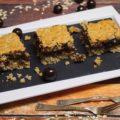 Ciasto owsiane z masą czekoladową