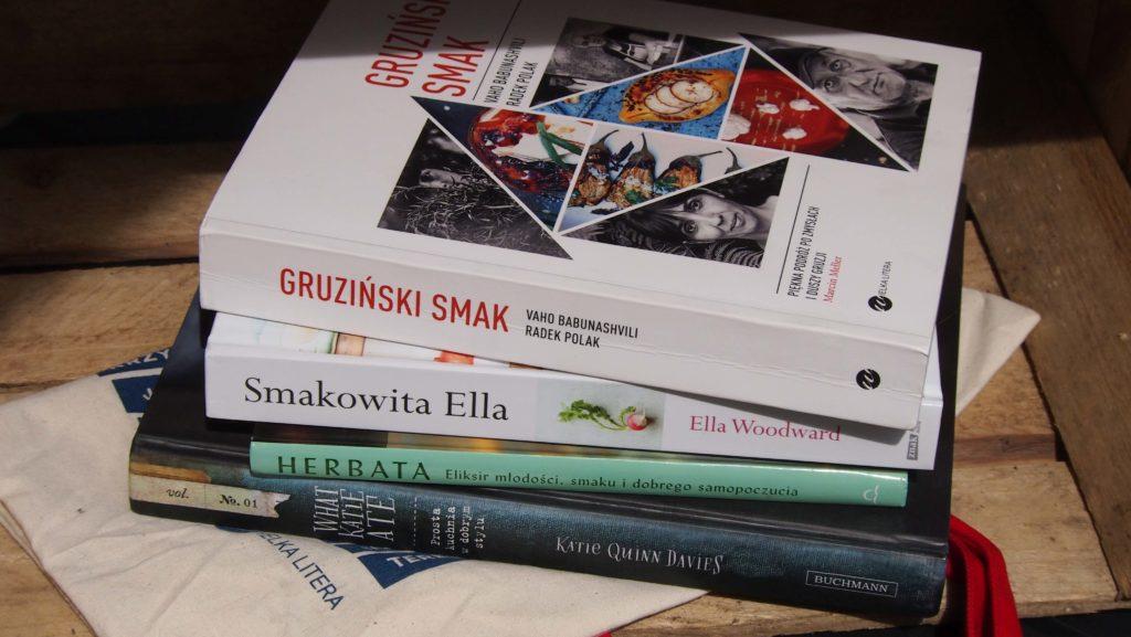 konkurs, do wygrania ksiązki Smaki Gruzji, Smakowita Ella, Herbata , What Katie Ate