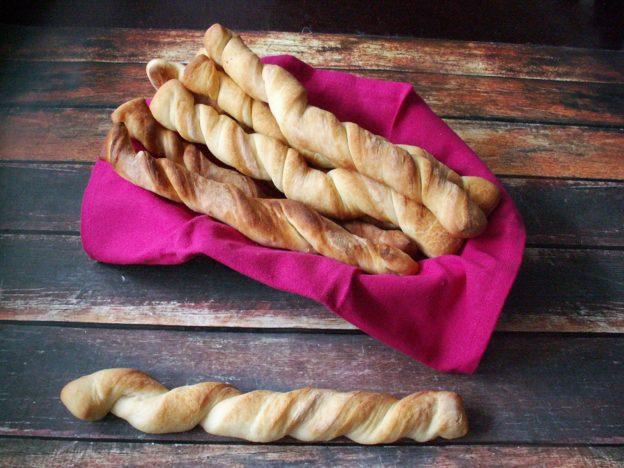Paluszki chlebowe
