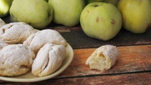 Kruche ciastka z jabłkiem
