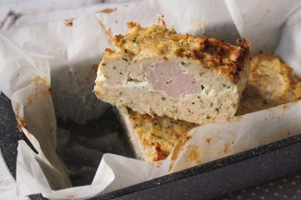 Pieczeń drobiowa z mielonej piersi kurczaka i udka indyka