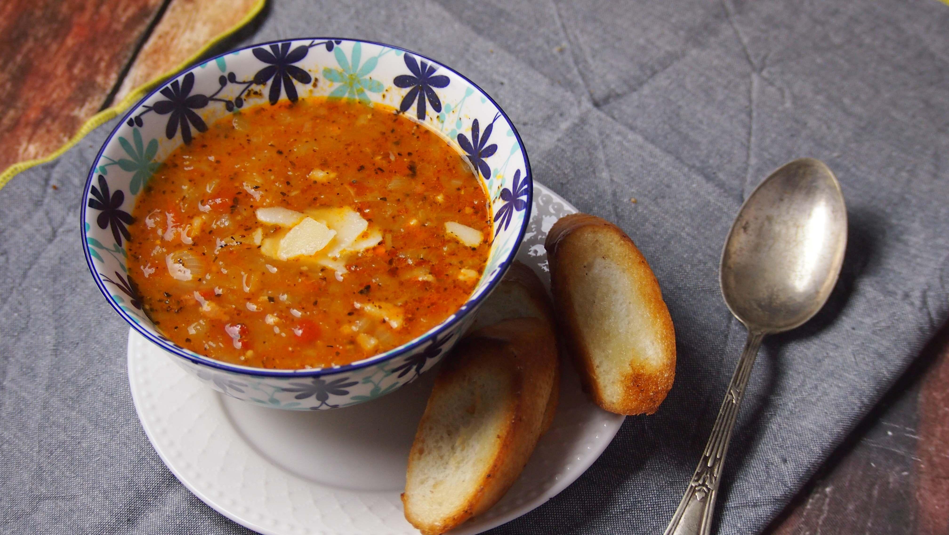 Zupa cebulowa – cipollata