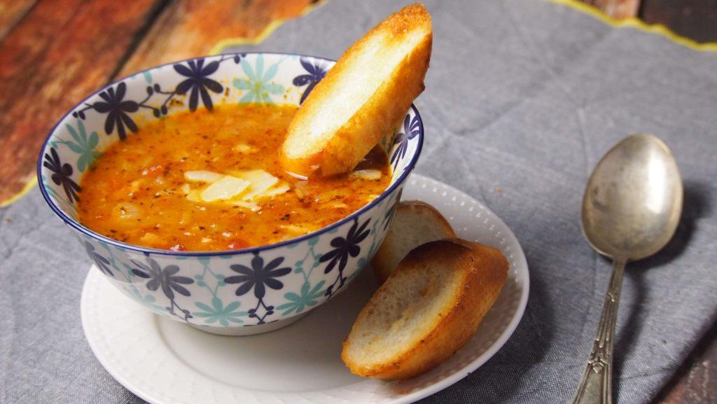 włoska zupa cebulowa - cipollata