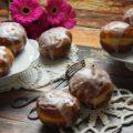 domowe pączki z dodatkiwm ziemniaków, przepis