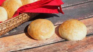 Puszyste bułki z ziemniakami