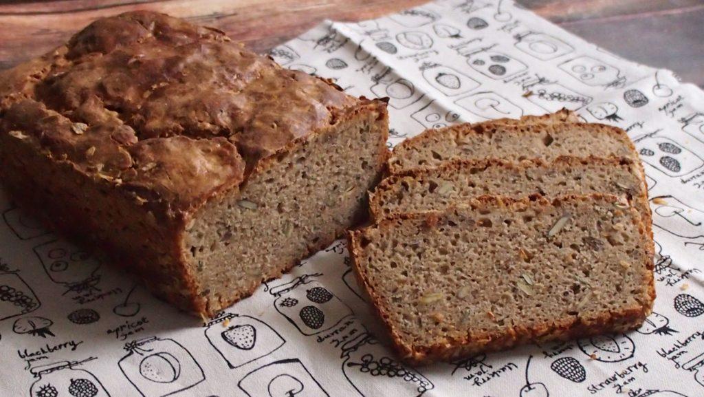 Chleb żytni na winogronowej wodzie drożdżowej