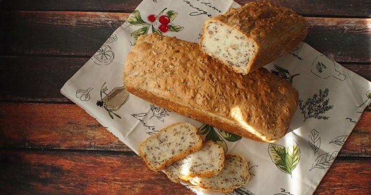 Chleb mieszany łyżką