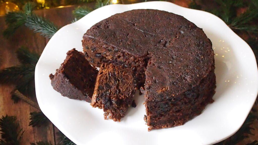 irlandzki keks świąteczny, irish pudding cake
