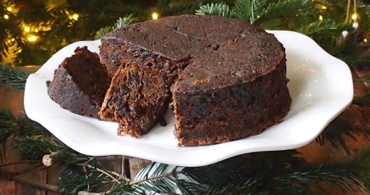 Irlandzki keks świąteczny